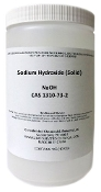 Sodium Hydroxide Beads 1kg High Purity (2.2lb)