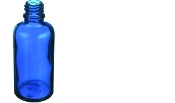 30ml Blue Round Bottles