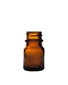 10ml Brown Round Amber Bottles - Case of 144